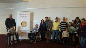 Rotary Club of Bucharest: The 5th edition of the Service Project for Families in Disadvantaged Communities (Almașu Mare)
