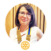 Rotary Bucharest Club President </br> 2019-2020