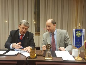Vizita Excelentei Sale,  Ambasadorul Federatiei Ruse in Romania, Dl Valery Kuzmin