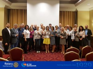The new president of Rotary Club Bucharest 2018-2019