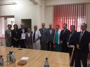 The first minimally invasive cardiac surgery in a hospital in Romania