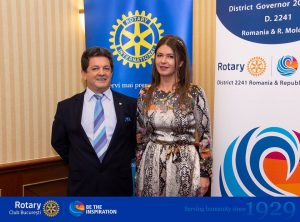 The visit of Rotary District Governor 2241, Cristian V Jurji, an opportunity to turn our attention to Rotary International projects