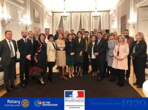 Am vizitat cu entuziasm Ambasada Frantei in Romania