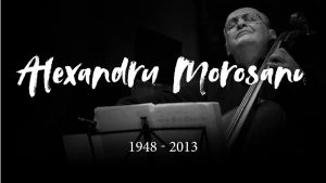 Exceptional recital in memory of Alexandru Morosanu, by Madalina Pasol and young performers, February 9