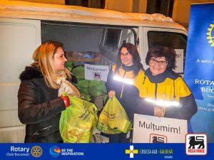 Rotary București alături de Crucea Alb Galbenă: suport pentru persoanele în vârstă și singure