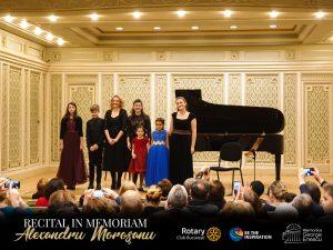 Recital de exceptie in memoriam Alexandru Morosanu