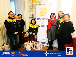 Together with the beneficiaries of the White Yellow Cross Foundation
