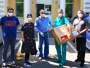 "Donation of medical equipment to the ""Grigore Alexandrescu"" Hospital, Bucharest"